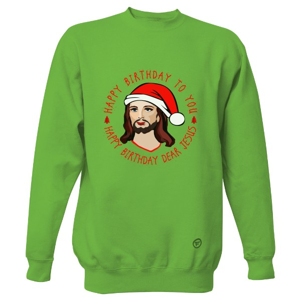 989c07ec4931 Mikina Supreme s potlačou Birthday Jesus - mikina