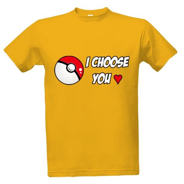 c770f0a832b2 Tričko s potlačou pokémon love